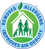 We can remove up to 98% of allergens