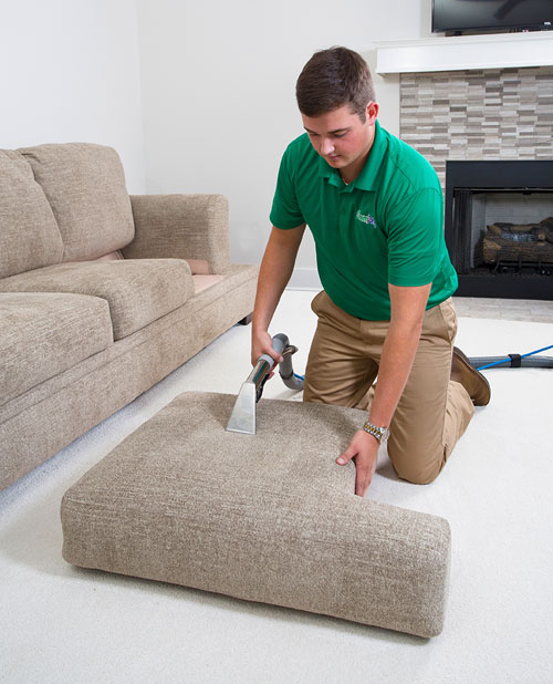 Power Chem-Dry professional upholstery cleaning